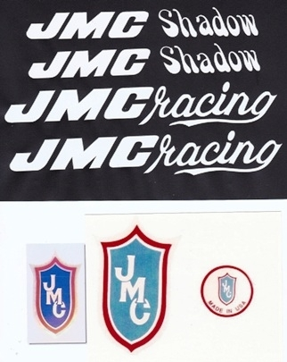 White JMC Shadow Decal Set