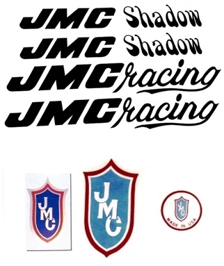 Black JMC Shadow Decal Set