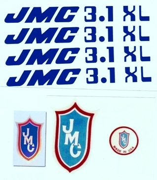 Blue 3.1 XL decals