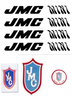 Black JMC Mini decals