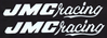 2 White JMC® Racing F/F decals