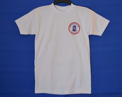 White Large JMC Racing 40th Anniversary Bayside T-Shirt