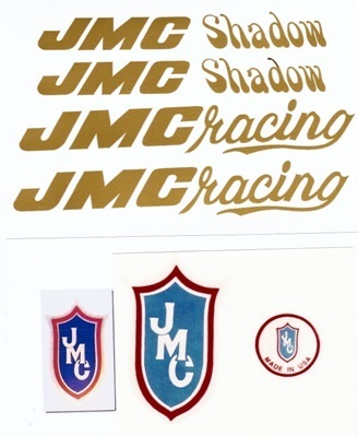 Gold JMC Shadow Decal Set