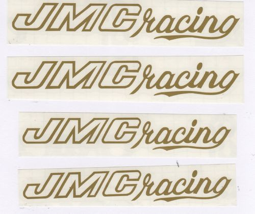 Gold JMC® Racing Decal Set