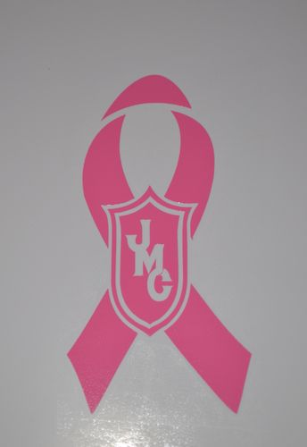 Pink Ribbon JMC® Logo Decal