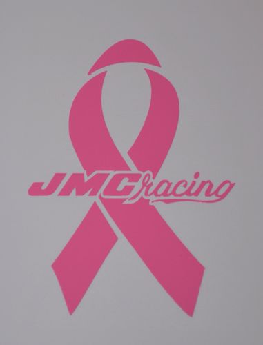 Pink JMC® Racing with Pink Ribbon Decal