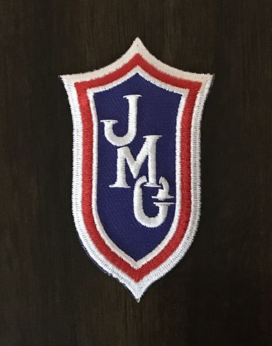 JMC® 3in. Shield Logo Iron-On Patch
