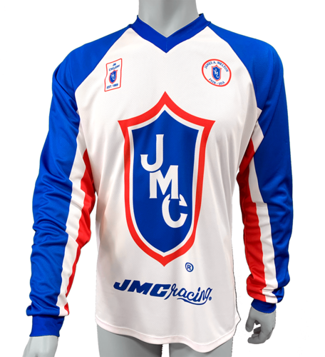 JMC ®  Racing Tribute Jersey  With Personalization Size Medium   (Estimated ship date 8/5/2020)